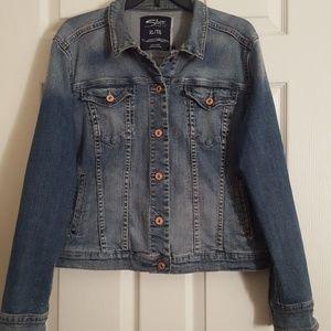 Silver Jean Jacket